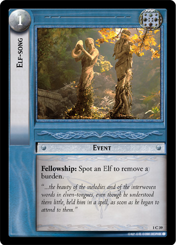 Elf-song (1C39) Card Image