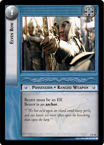 Elven Bow (1C41) Card Image