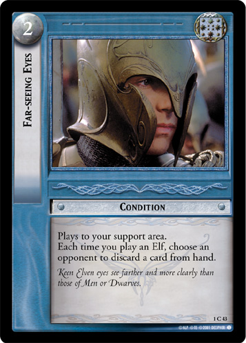 Far-seeing Eyes (1C43) Card Image