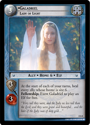 Galadriel, Lady of Light (1R45) Card Image