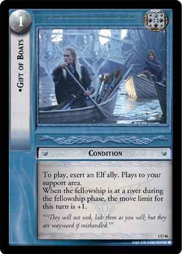 Gift of Boats (1U46) Card Image