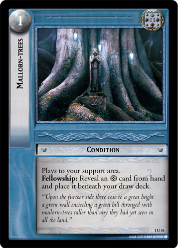 Mallorn-trees (1U54) Card Image