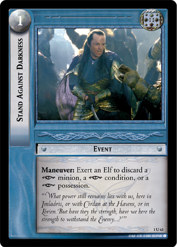 Stand Against Darkness (1U63) Card Image