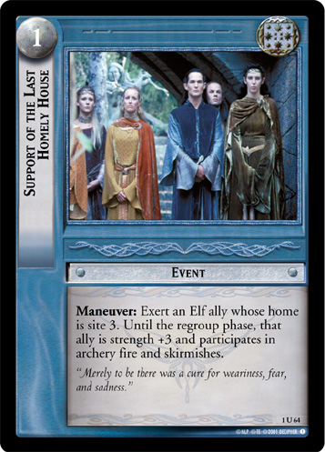 Support of the Last Homely House (1U64) Card Image