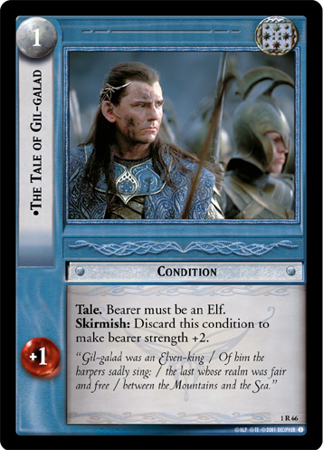 Lotr Tcg Wiki The Tale Of Gil Galad 1r66