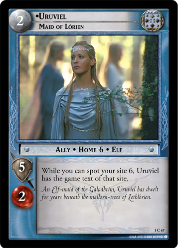 Uruviel, Maid of Lorien (1C67) Card Image