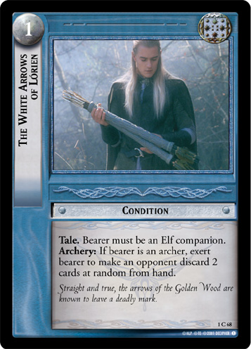 The White Arrows of Lorien (1C68) Card Image