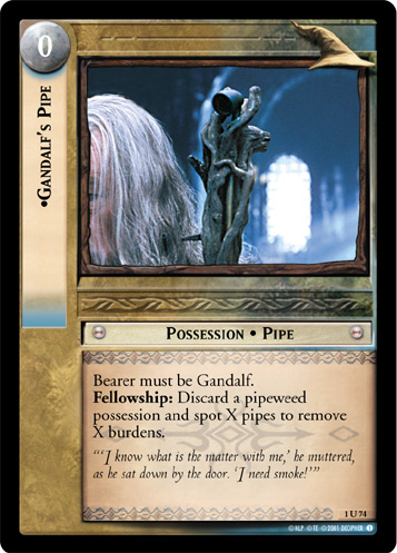 Gandalf's Pipe (1U74) Card Image