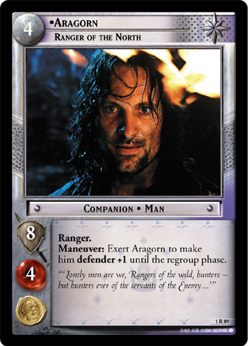 Aragorn, Ranger of the North (1R89) Card Image