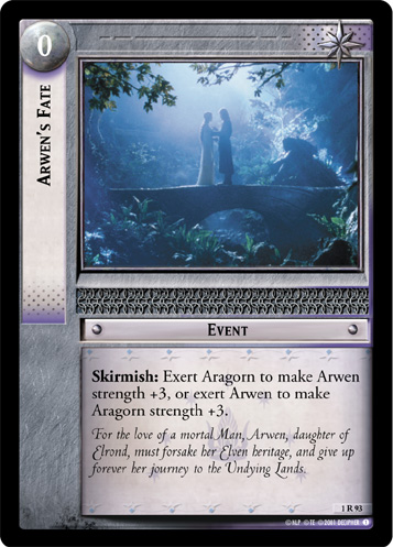 Arwen's Fate (1R93) Card Image