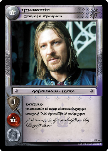 Boromir, Lord of Gondor (T) (1R96T) Card Image
