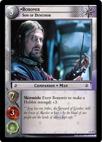 Boromir, Son of Denethor (1U97) Card Image