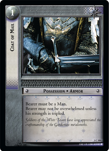 Coat of Mail (1C101) Card Image