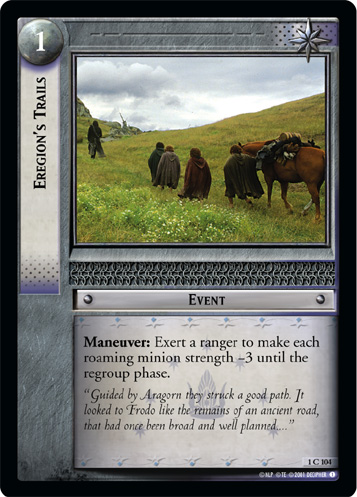 Eregion's Trails (1C104) Card Image