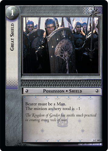 Great Shield (1C107) Card Image