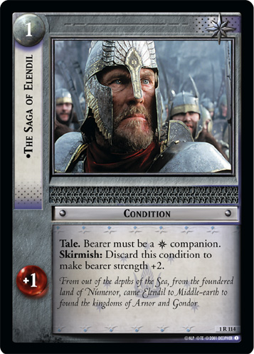 The Saga of Elendil (1R114) Card Image