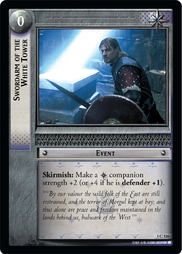 Swordarm of the White Tower (1C116) Card Image