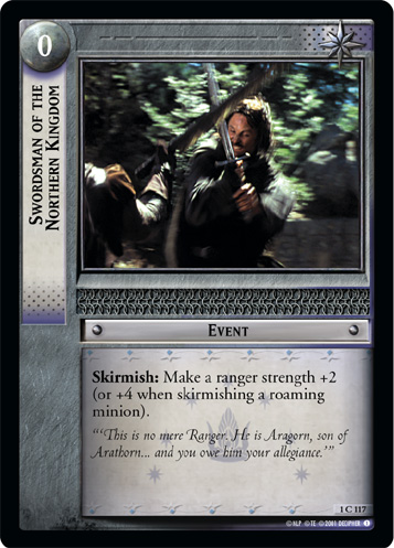 Swordsman of the Northern Kingdom (1C117) Card Image
