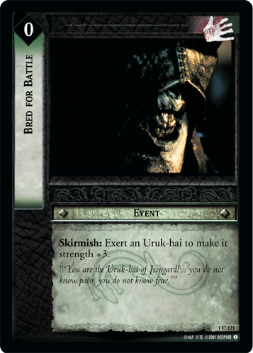 Bred for Battle (1C121) Card Image