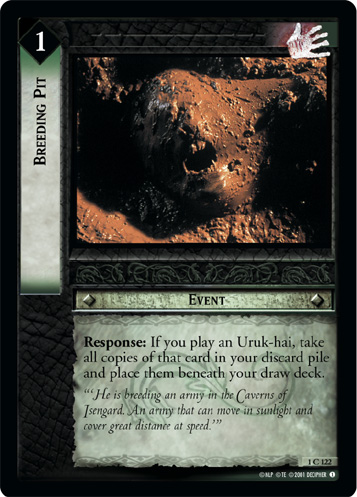 Breeding Pit (1C122) Card Image