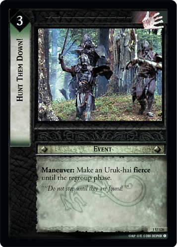 Hunt Them Down! (1U126) Card Image