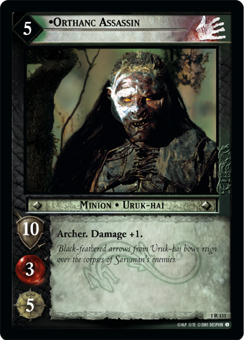 Orthanc Assassin (1R131) Card Image