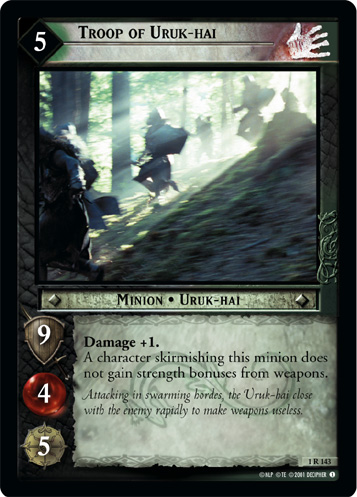 Troop of Uruk-hai (1R143) Card Image
