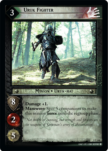 Uruk Fighter (1C146) Card Image