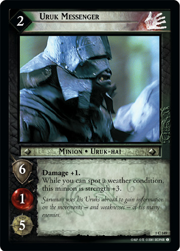 Uruk Messenger (1C149) Card Image