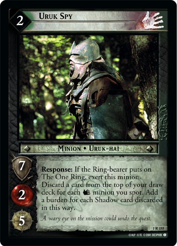 Uruk Spy (1R155) Card Image