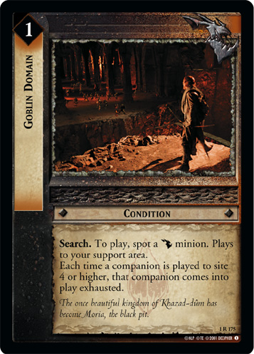 Goblin Domain (1R175) Card Image