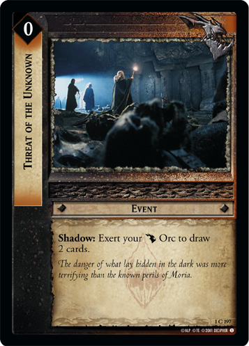 Threat of the Unknown (1C197) Card Image