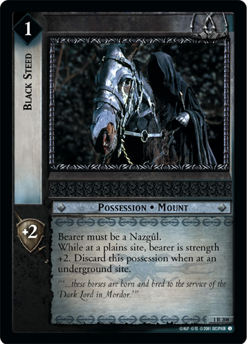 Black Steed (1R208) Card Image