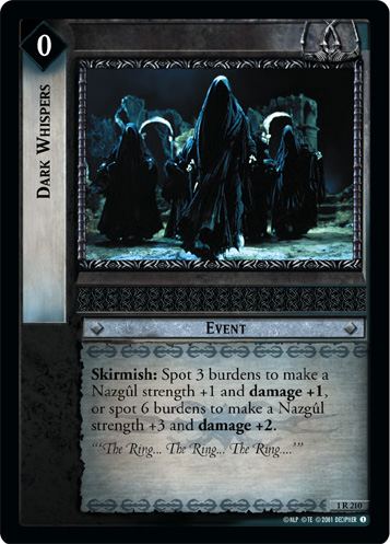 Dark Whispers (1R210) Card Image