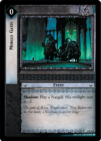 Morgul Gates (1R217) Card Image