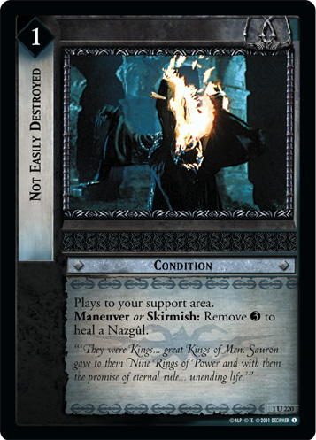Not Easily Destroyed (1U220) Card Image