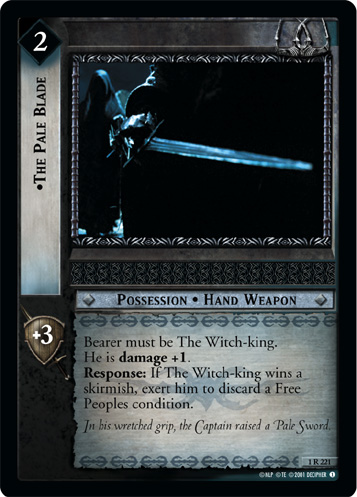 The Pale Blade (1R221) Card Image