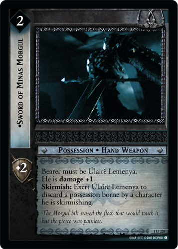 Sword of Minas Morgul (1U225) Card Image