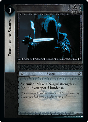 Threshold of Shadow (1U227) Card Image