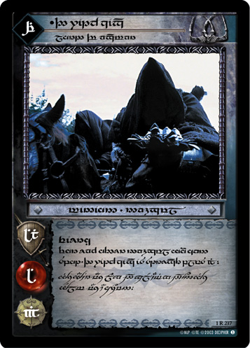 The Witch-king, Lord of Angmar (T) (1R237T) Card Image