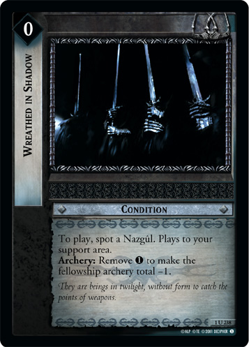 Wreathed in Shadow (1U238) Card Image