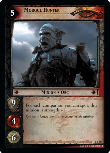Morgul Hunter (1R256) Card Image