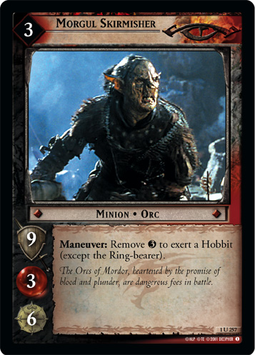 Morgul Skirmisher (1U257) Card Image