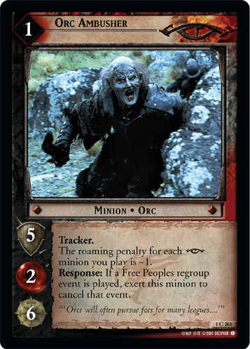 Orc Ambusher (1C261) Card Image