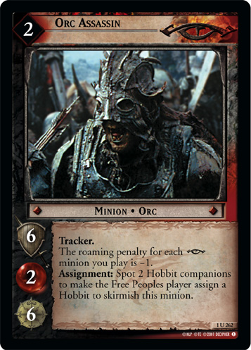 Orc Assassin (1U262) Card Image