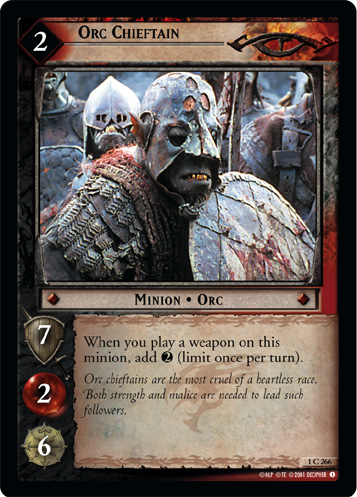 Orc Chieftain (1C266) Card Image