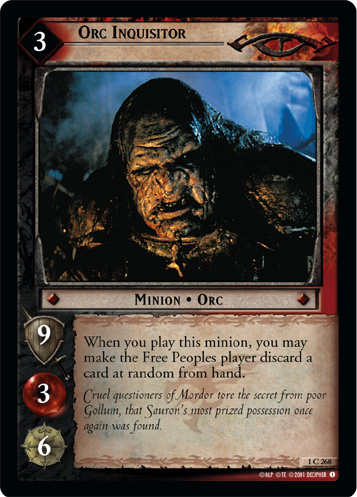 Orc Inquisitor (1C268) Card Image