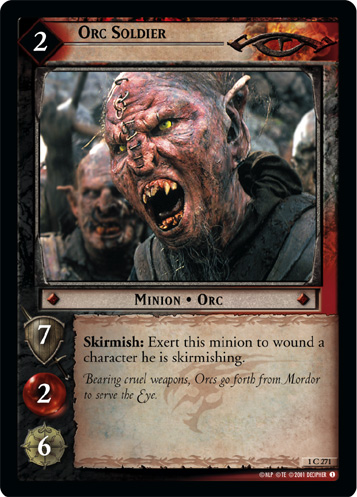 Orc Soldier (1C271) Card Image