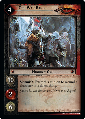 Orc War Band (1R272) Card Image