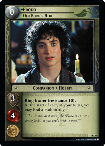 Frodo, Old Bilbo's Heir (1R289) Card Image